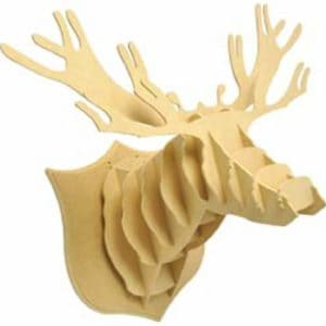Kaisercraft-Beyond-The-Page-MDF-Dimensional-Deer-Head-22-Inch-by-17.75-Inch-by-14-12-Inch-0