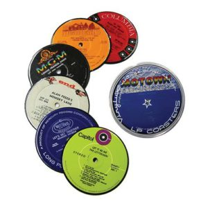 Recycled-Vinyl-Record-Label-Drink-Coasters-0