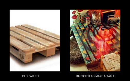 Just Another Pallet Coffee Table