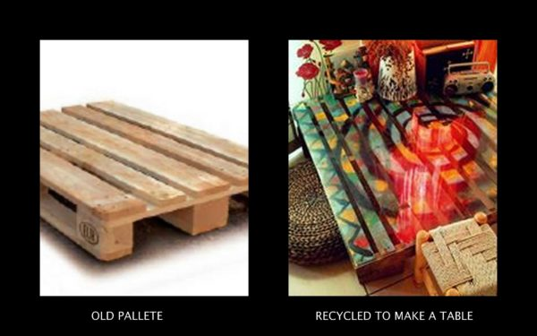 Just another pallet coffee table Recycled Pallets