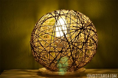 DIY : random light lamp