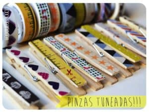DIY: transformed clothes pins
