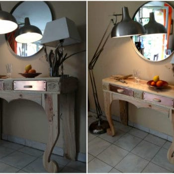 Winner Of Our Autumn Contest: Pallet Console