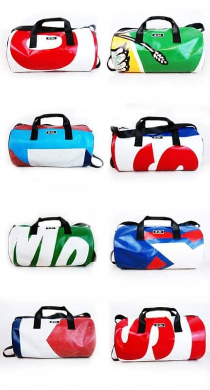 Truck Tarp Duffel Bag in fabric accessories  with Bags Accessories