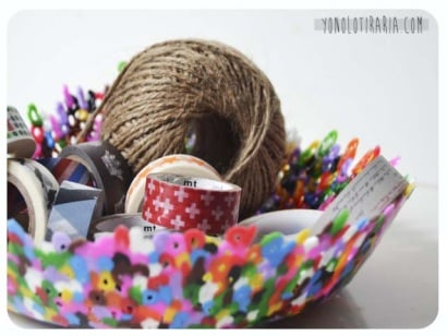 DIY: hamabeads bowl