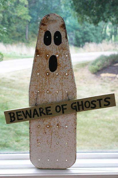 Ironing board ghost