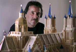 Artist, architect, builder: Paul Marti, the Master of Matchstickshands