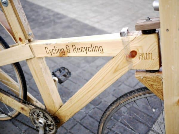 Cycle  Recycle: Wooden bike in wood bike friends  with Wood Recycled Pallets Bike
