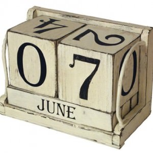 Ohio-Wholesale-Shabby-Chic-Perpetual-Calendar-Wall-Art-Set-of-6-from-our-Everyday-Collection-0