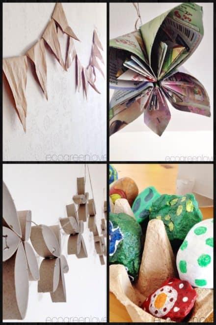 Eco Green Birthday Decorations