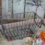 Shabby-Cottage-Chic-Small-Wire-Basket-with-Handles-0