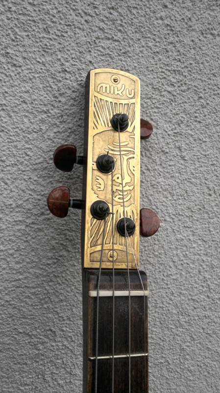 Cigar box guitar in diy  with Music Instrument guitar