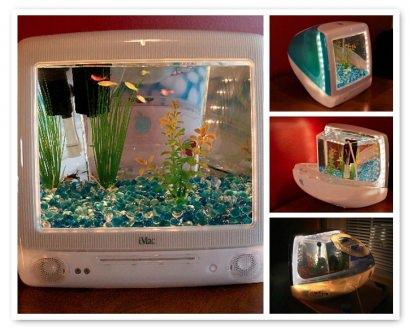 iMacquarium: Turn your old G3 iMac into an Aquarium