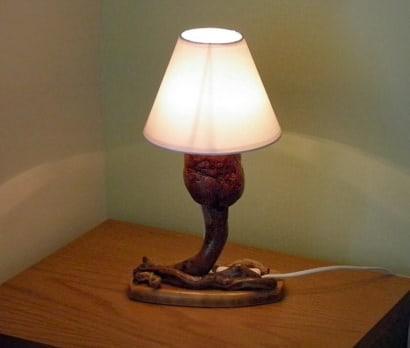 My mushroom lamp