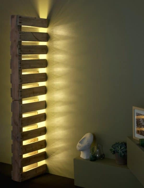 Design Pallet Lamps Lamps & Lights Recycled Pallets