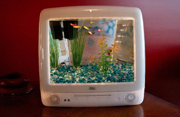 iMacquarium: Turn Your Old G3 iMac Into an Aquarium Recycled Electronic Waste