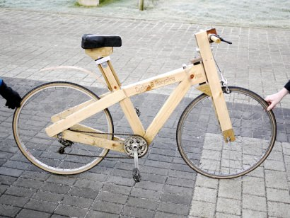 Cycle- Recycle: Wooden bike