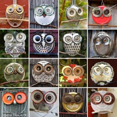 Recycled Owls