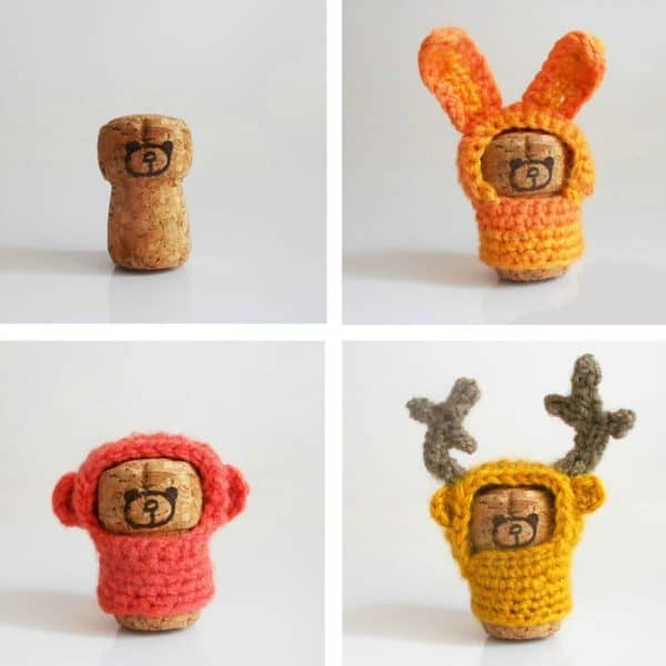 Little cork animals Do-It-Yourself Ideas Recycled Cork