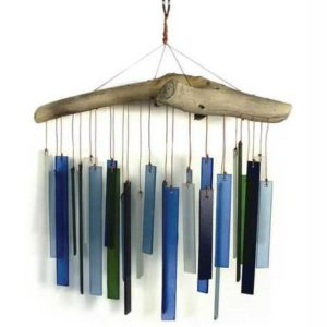 Blue-Handworks-Beach-Glass-and-Driftwood-Wind-Chime-0