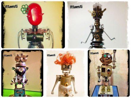 Ittaesti Robot Sculptures