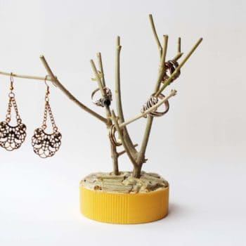 DIY: Branch Jewelry Holder