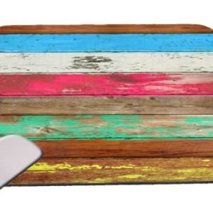 Reclaimed-Wood-Colorful-Mouse-Pad-0