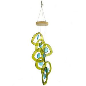 Recycled-Glass-Bottle-Windchime-Aqua-Drops-0