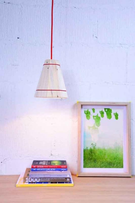 Sml Nat Red 600 533x800 Pallet Pendant Lamp shade in pallets 2 lights with Recycled pendant Pallet Light Lamp