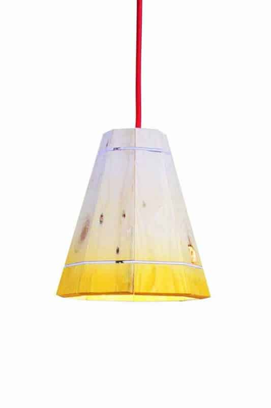 Sml yel wht 600 wht 533x800 Pallet Pendant Lamp shade in pallets 2 lights with Recycled pendant Pallet Light Lamp