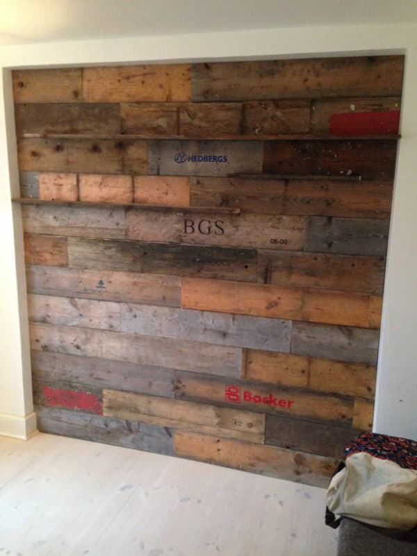 Pallets Wall Recycled Pallets