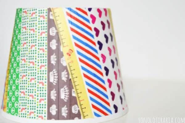 Washi lamp Do-It-Yourself Ideas Lamps & Lights