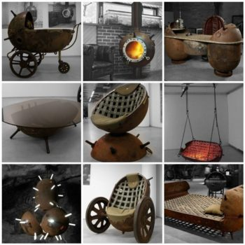 10 Recycled Marine Mine Furniture's