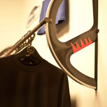 Velodrome Wheel Clothing Rack
