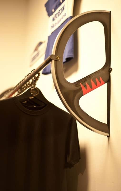 Velodrome Wheel Clothing Rack Bike & Friends