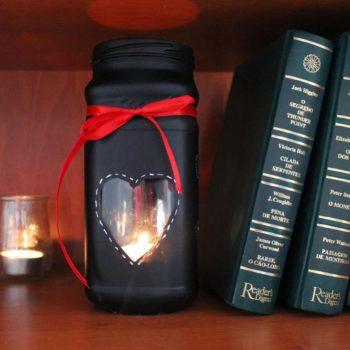 Valentine's Day Candle Jar