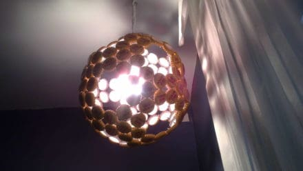 Beer Caps Lamp / Lampara Tapas