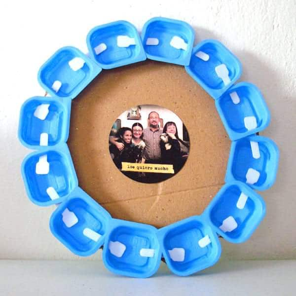Duvalin frame Do-It-Yourself Ideas Recycled Plastic