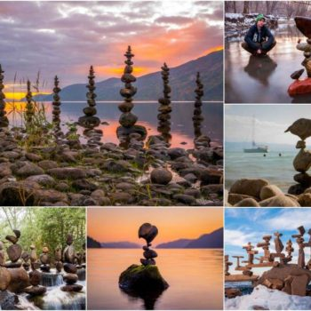 Gravity Glue: The Art of Balancing Rocks