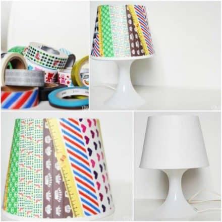 Washi lamp