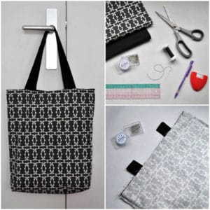 DIY: The reversible tote bag