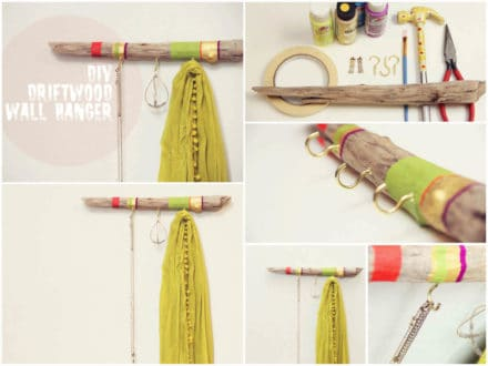 DIY: Driftwood Hanger