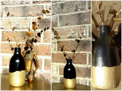Blaah to glam – Reincarnation of a glass bottle