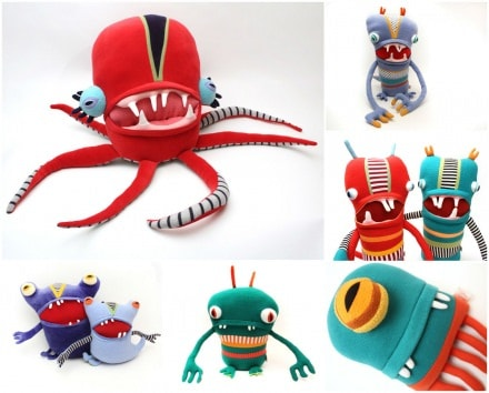Upcycled cotton Monsters