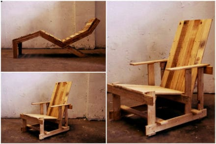 The P Series: Pallet furniture's