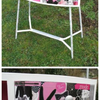 """Pin Up"" Relooked Vintage Dresser"
