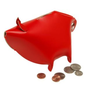 Vacavaliente-Leather-Piggy-Bank-Medium-Red-0