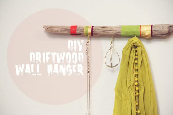 DIY: Driftwood Hanger Do-It-Yourself Ideas Wood & Organic
