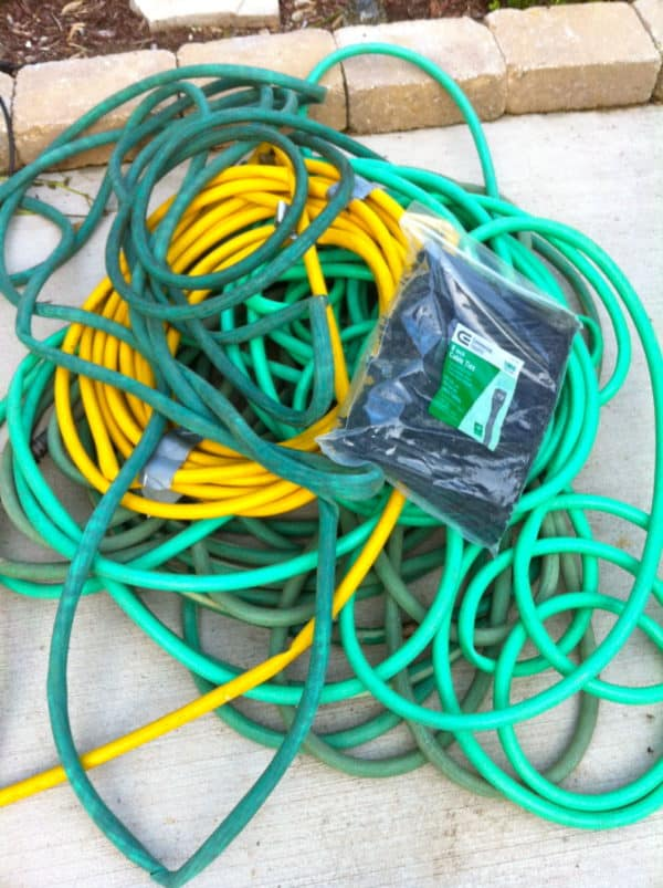 Recycled Hoses into Garden Mat Do-It-Yourself Ideas Garden Ideas