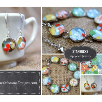 Upcycled Starbucks Gift Card Jewelry